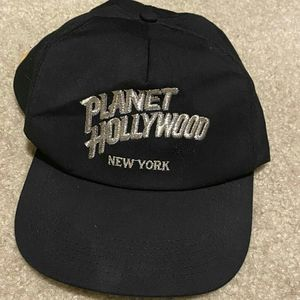 (2/$20) Planet Hollywood New York Hat
